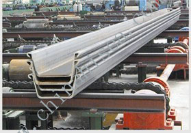 600*360 U Shape Cold Rolled Steel Sheet Pile