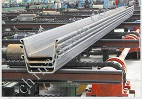 Z Shape Hot Rolled Steel Sheet Pile
