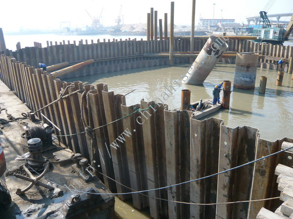 Cold Bend Steel Sheet Pile