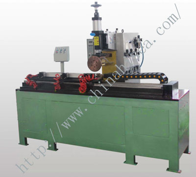 Resistance seam welding machine