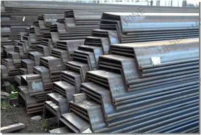 700*550 U Shaped Cold Bening Steel Sheet Pile