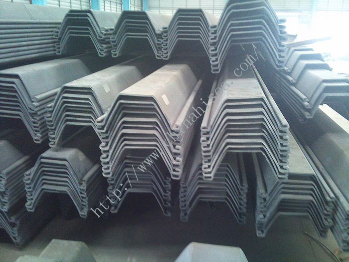 570*360 U Shaped Cold Formed Steel Sheet Pile