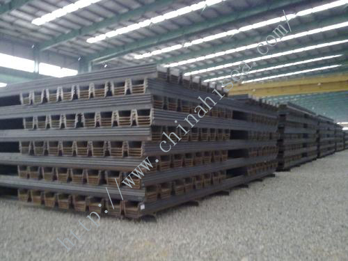 400*150mm Hot Rolling U Shaped Steel Sheet Piling