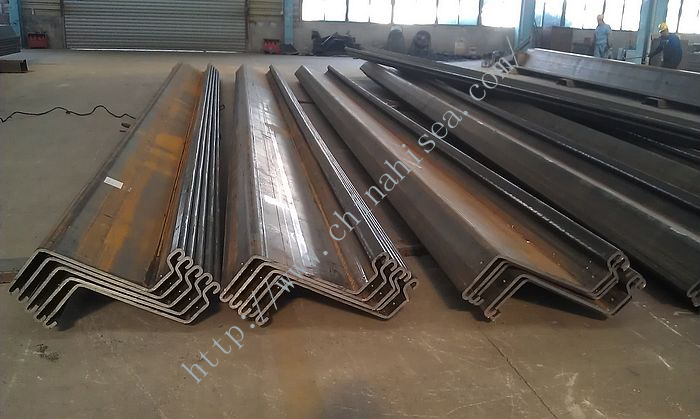 U Shape Cold Formed Steel Sheet Piling
