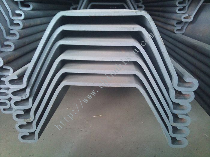 750*600 U Shape Cold Rolled Steel Sheet Piling
