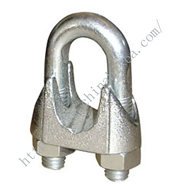 Galvanized Malleable DIN 741 Wire Rope Clips