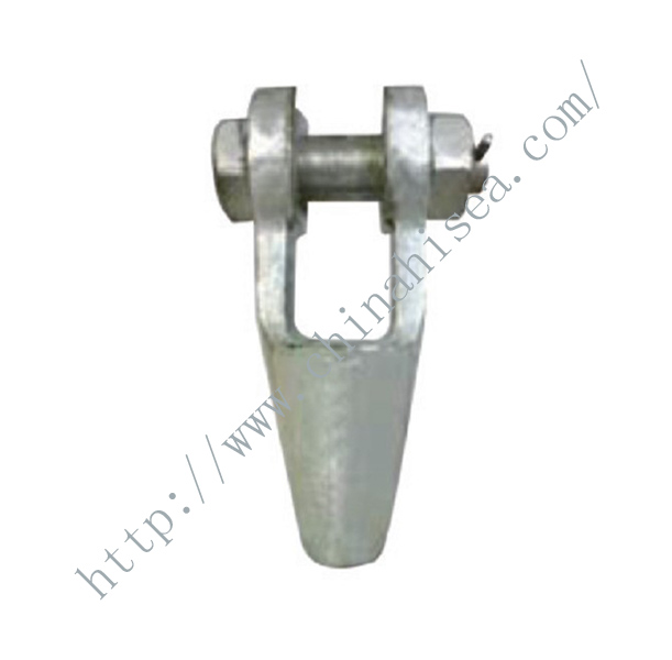 Open Forged Spelter Socket