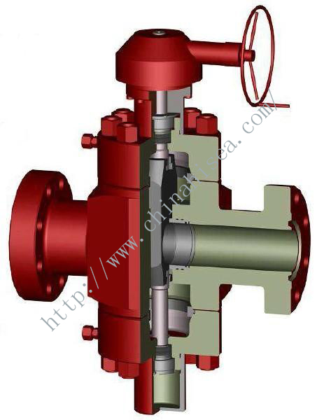 Valve with Gear Box