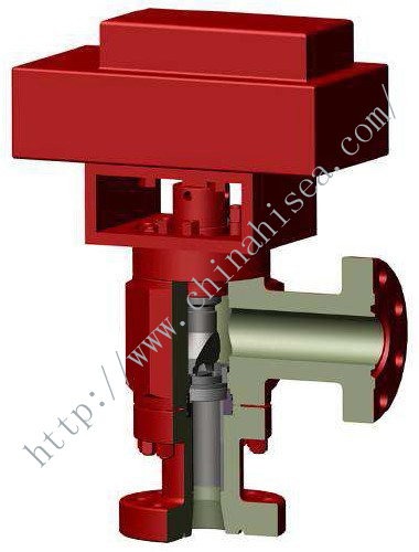 Drilling Choke Valve - Hydrauliclly Actuated Holed Disc Type.jpg