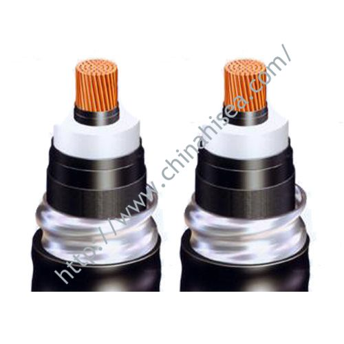 High Voltage silicon rubber sheathed power cable