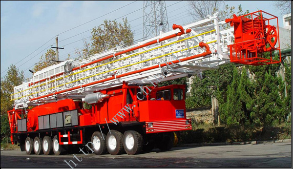Oil/Gas Truck-mounted Drilling Rig