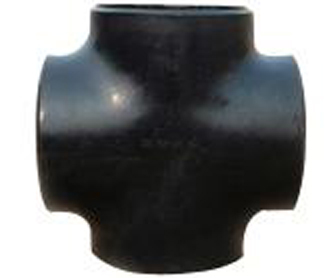 Carbon steel pipe cross