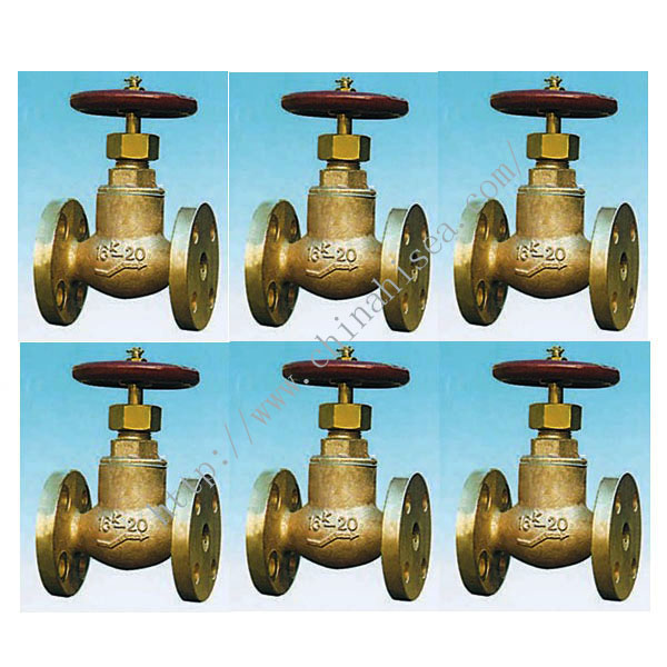 Marine Bronze Screw Down Check Globe Valves JIS F 7409 16K