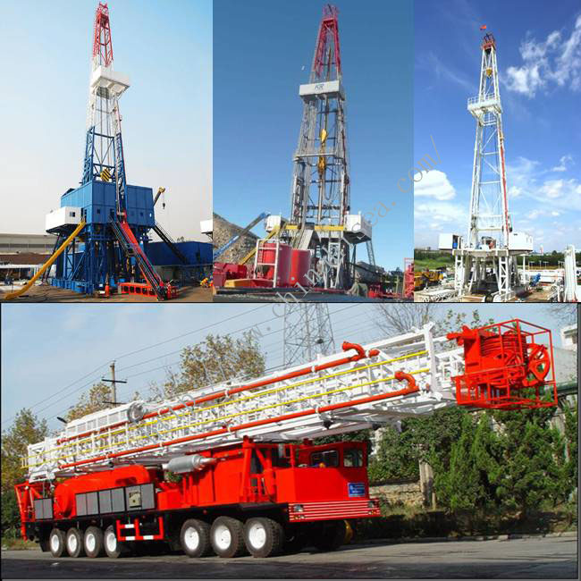 Oil/Gas Drilling Rig