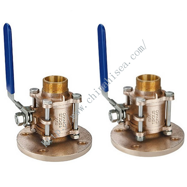 Bronze Marine Flange Floating Ball Valve