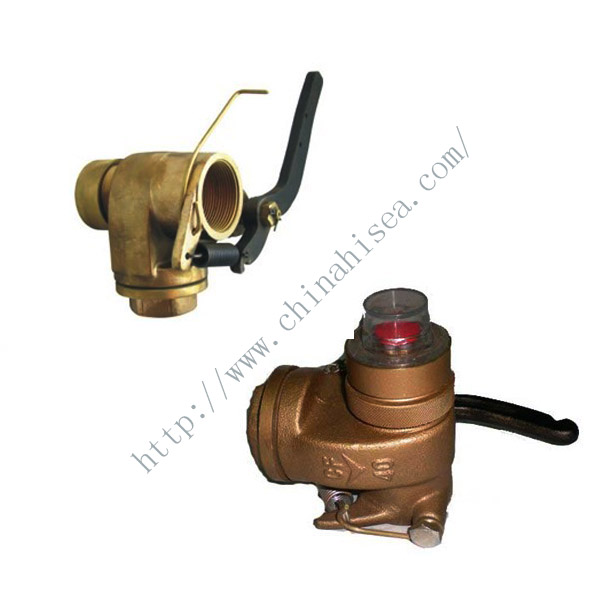 Marine Bronze Self-Closing Gate Valve Head for Sounding Pipe JIS F3019