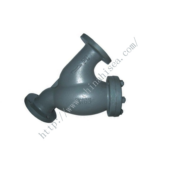 Marine Cast Iron Y Type Strainer