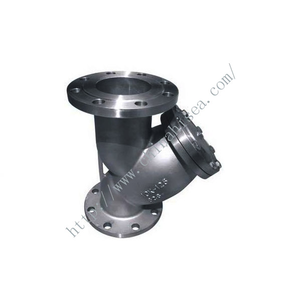 Marine Cast Steel Y Strainer