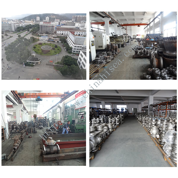 Flanged Pneumatic Stainless Steel Ball Valve Factory