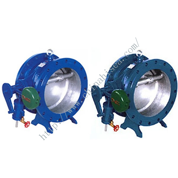 Butterfly Type Non-slam Check Valve Two Colours