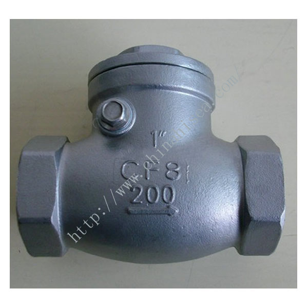 H14W Internal Thread Check Valve in Factory
