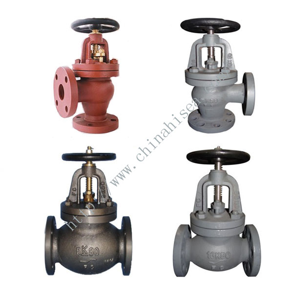 Marine cast iron valves