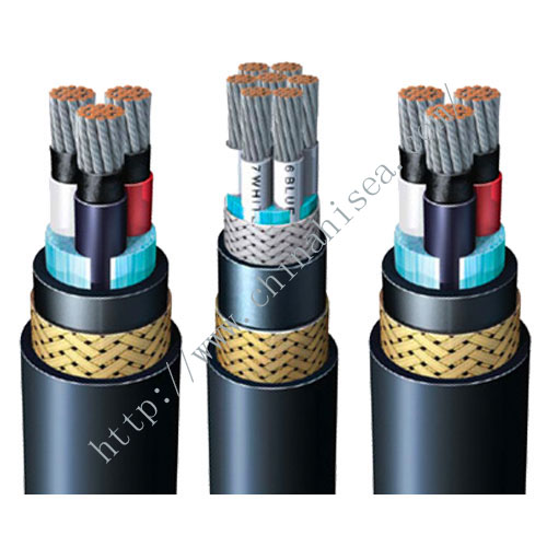 BFOU P5 P12 Halogen free mud resistant offshore power cable