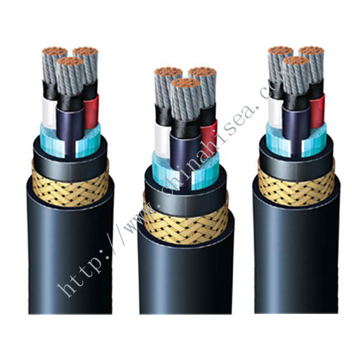 TFOU P1 P8 Flame retardant mud resistant offshore power cable