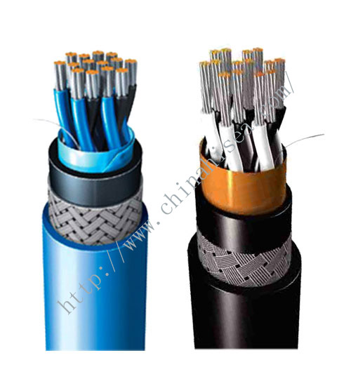 BFOU(i) S3 halogen free offshore communication cable