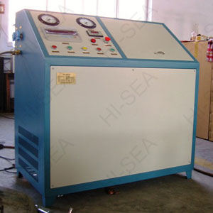 GTM-D Fire extinguisher Co2 filling machine