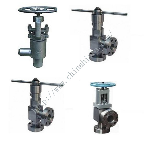 High Pressure Angle Stop Valve