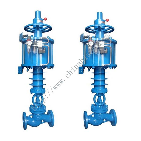 Pneumatic High Pressure Globe Valve Sample In Factory