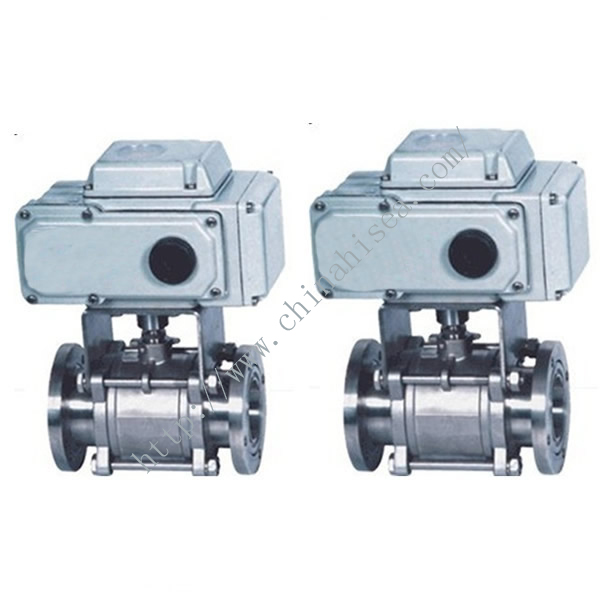 Electric Vacuum Ball Valve