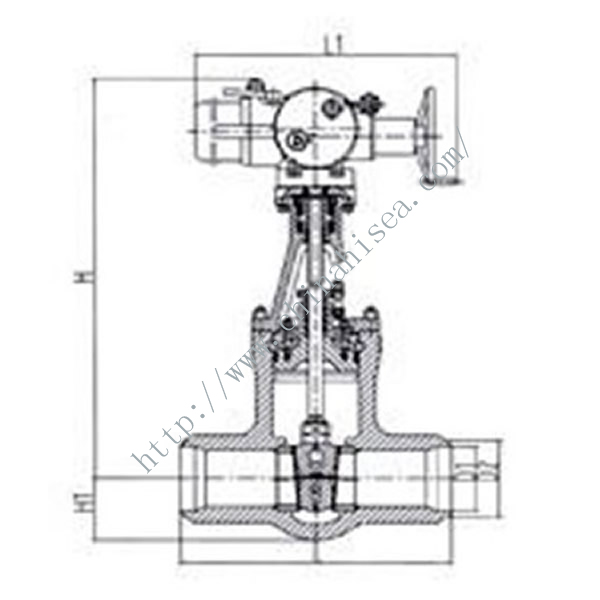 Electric Welding Gate Valve Working Theory