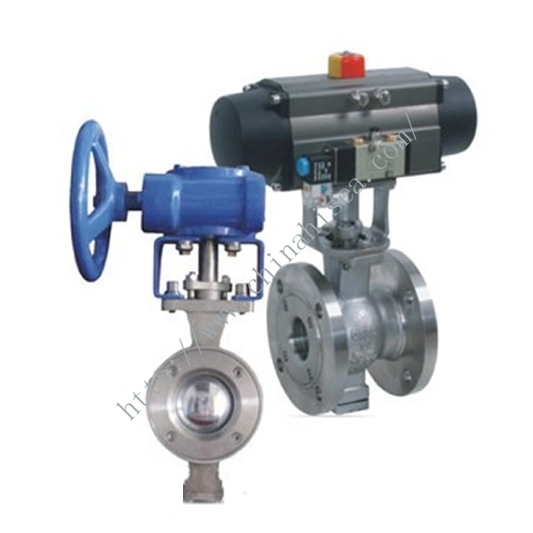 Electric V Type Adjusting Ball Valve