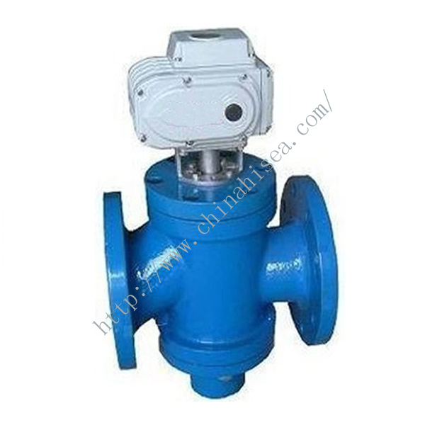 Electric Control Temperature Regulating Valve In Factory