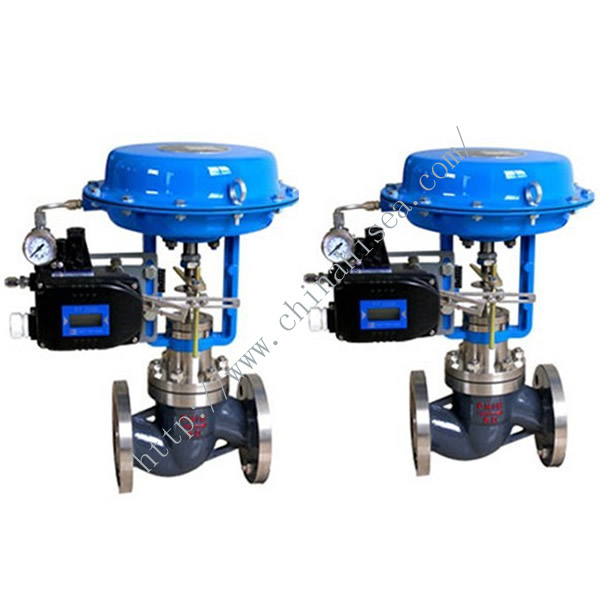 Pneumatic Diaphram Single Regulating Valve In Factory