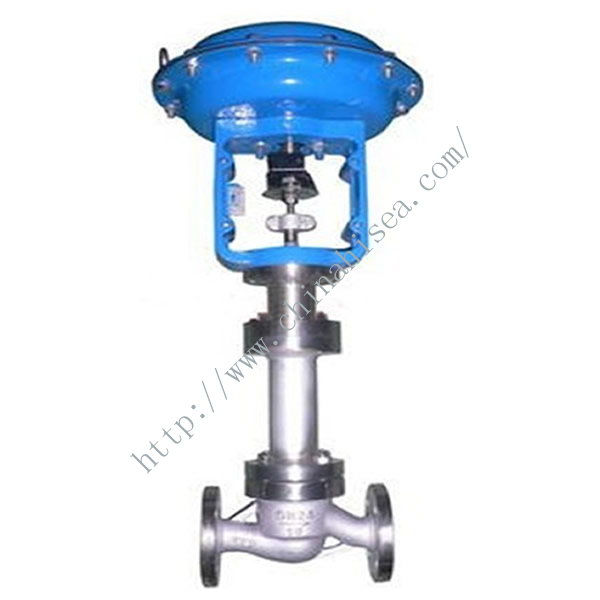 Bellows Seal Pneumatic Single Seat Regulating Valve In Factory
