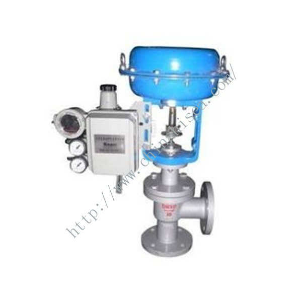 Pneumatic Angle Type Regulating Valve Sample