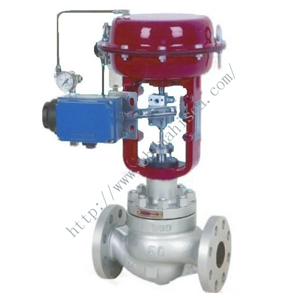 Pneumatic Diaphragm Control Valve Red