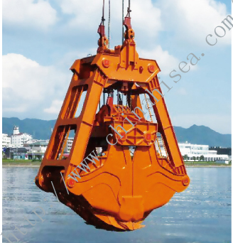 Four rope dredging grab working picture.jpg
