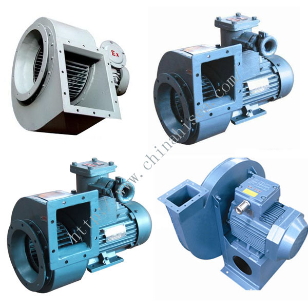 Marine Explosion Proof Centrifugal Exhaust Fan