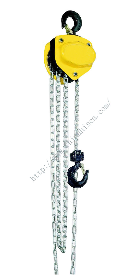 Chain Hoist with capacity 500kg to 30 tonnes