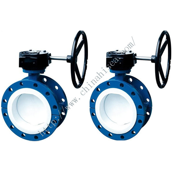 Hard Sealing Flange Butterfly Valve Sample