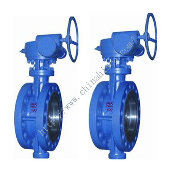 High Pressure Butterfly Valve with Hand Wheel