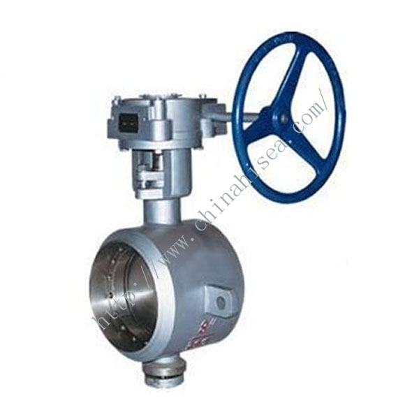 Weld Butterfly Valve In Factory