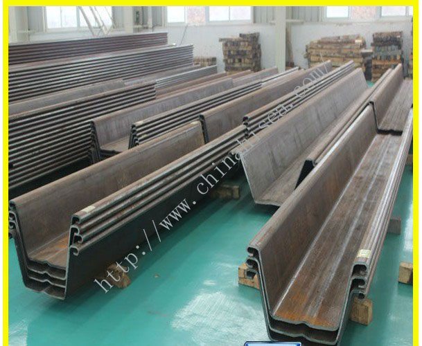 Cold formed Steel Sheet Piling