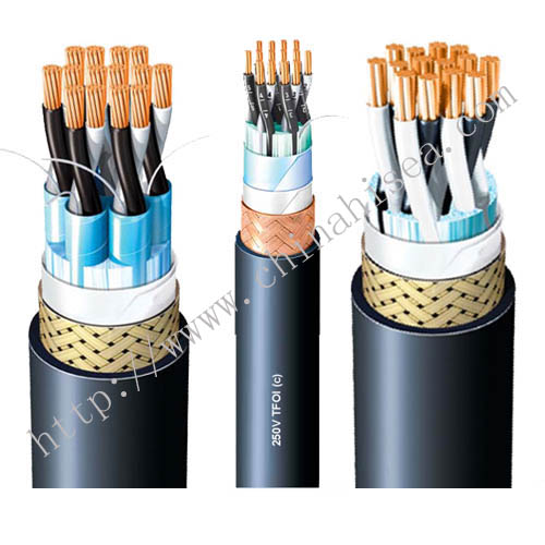 TFOI screened flame retardant telephone cable