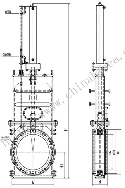 Structure of Hydraulically Dredge Gate Valve.jpg