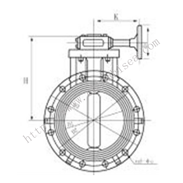 Gear Type Butterfly Valve Working Theory